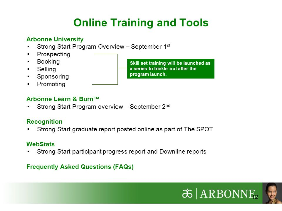 Online Training and Tools