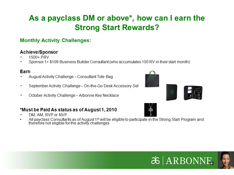 As a payclass DM or above*, how can I earn the Strong Start Rewards