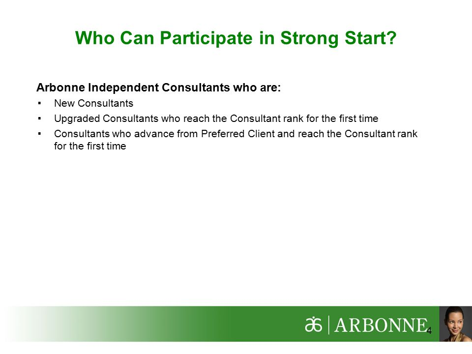 Who Can Participate in Strong Start