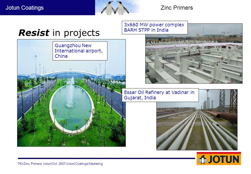 Resist in projects 3x660 MW power complex BARH STPP in India