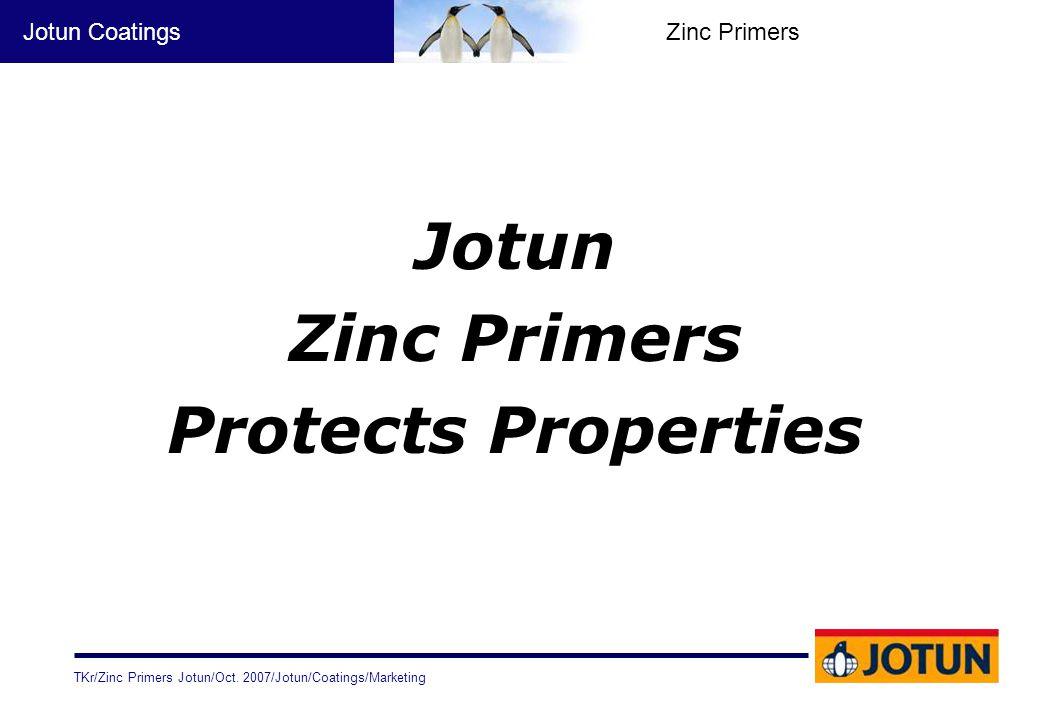 Jotun Zinc Primers Protects Properties