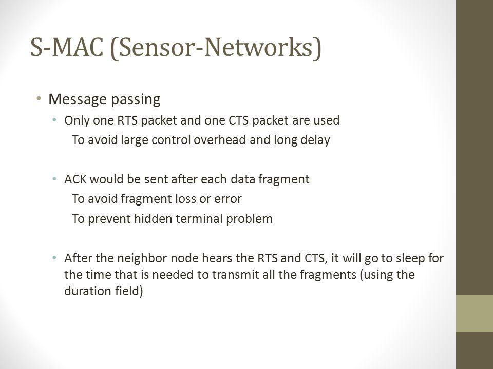 S-MAC (Sensor-Networks)