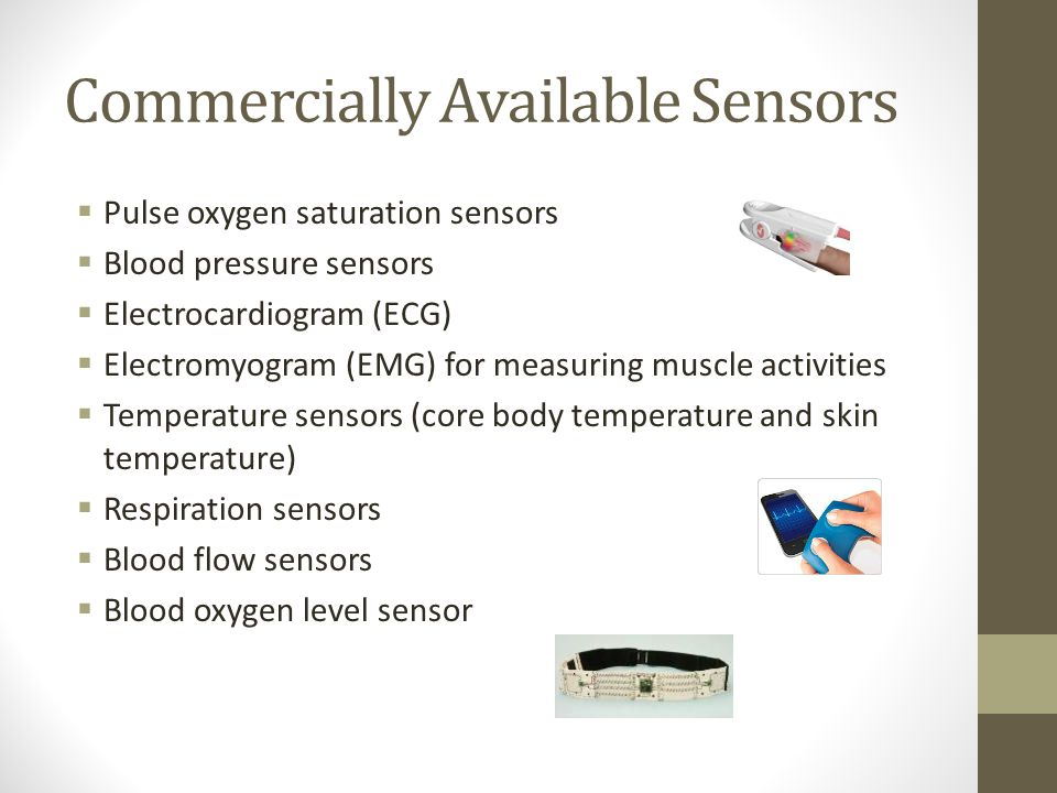 Commercially Available Sensors
