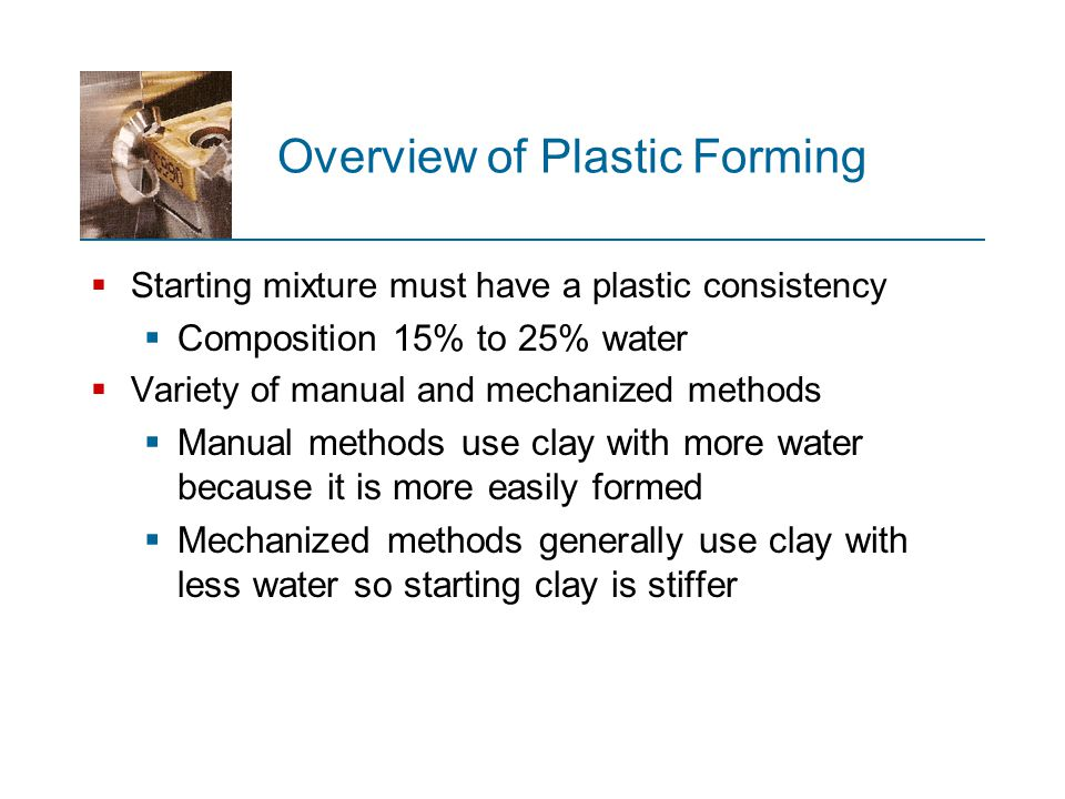 Overview of Plastic Forming