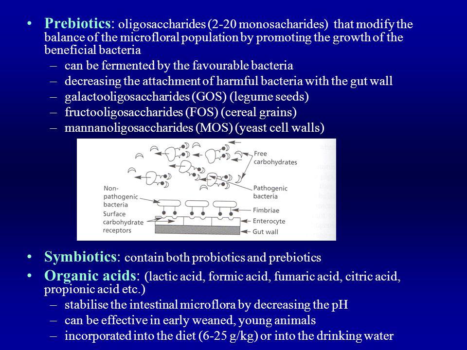 Symbiotics: contain both probiotics and prebiotics