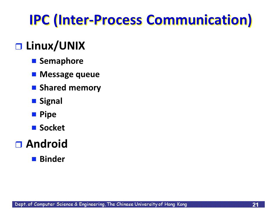 IPC (Inter-Process Communication)