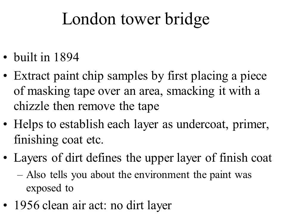 London tower bridge built in 1894