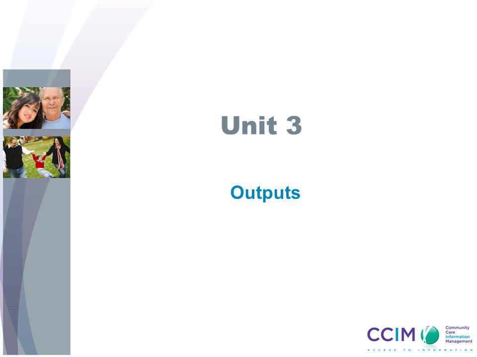 Unit 3 Outputs.