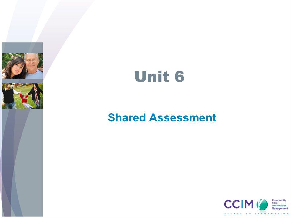 Unit 6 Shared Assessment