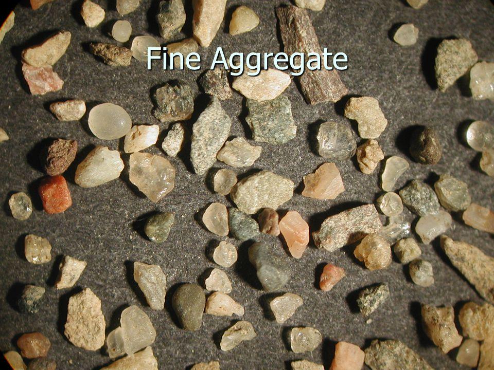 Fine Aggregate