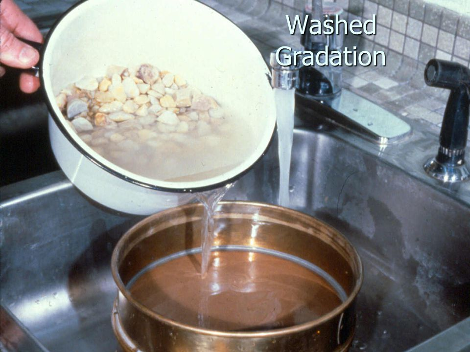 Washed Gradation