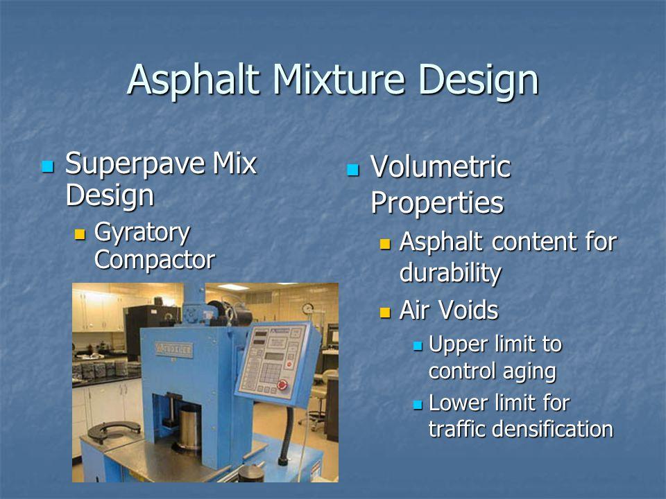 Asphalt Mixture Design