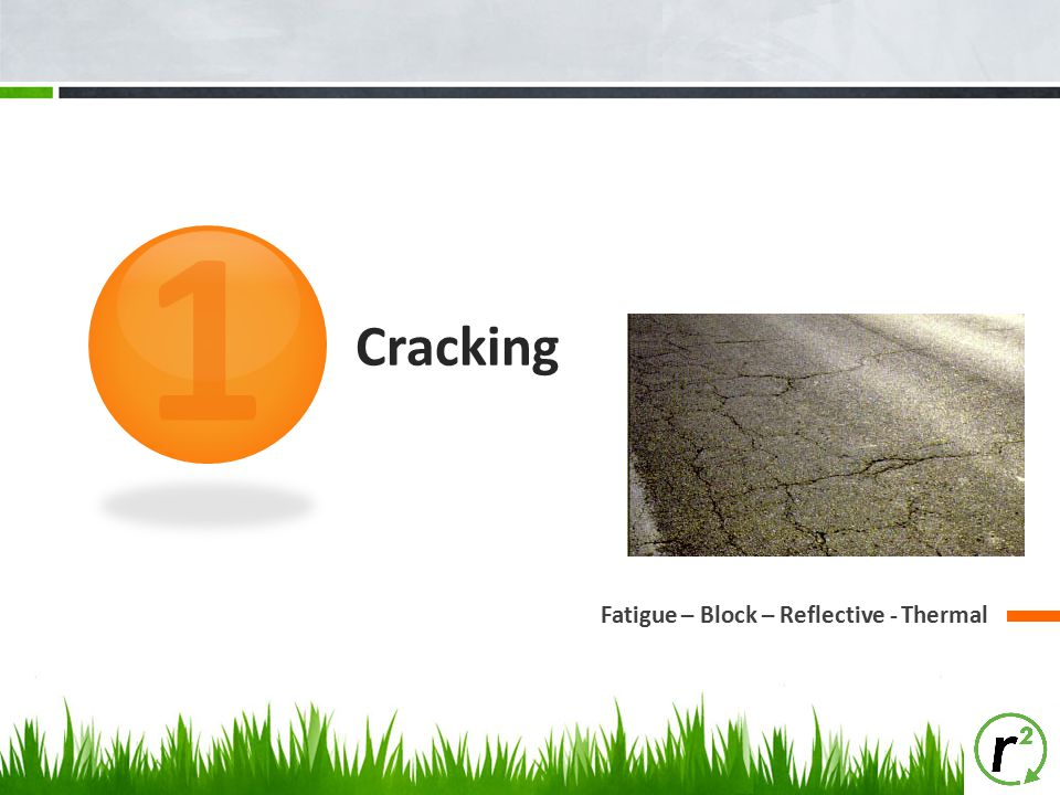 1 Cracking Fatigue – Block – Reflective - Thermal