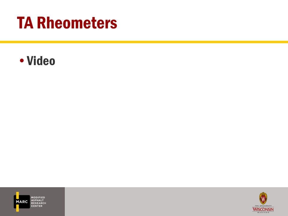 TA Rheometers Video