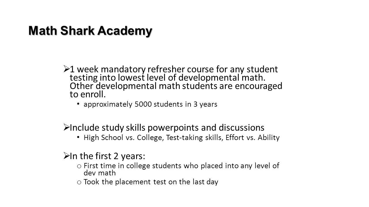 Math Shark Academy