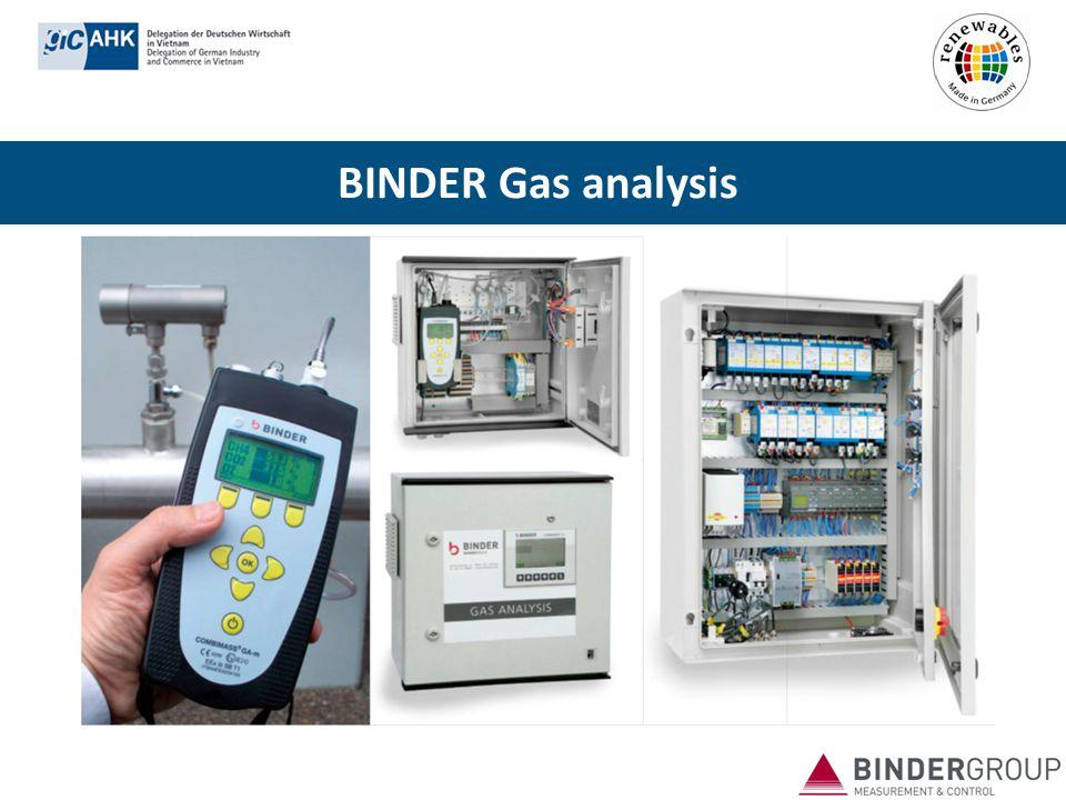 BINDER Gas analysis