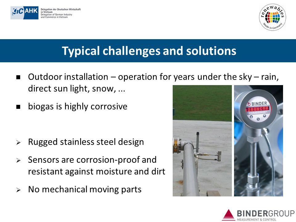 Typical challenges and solutions