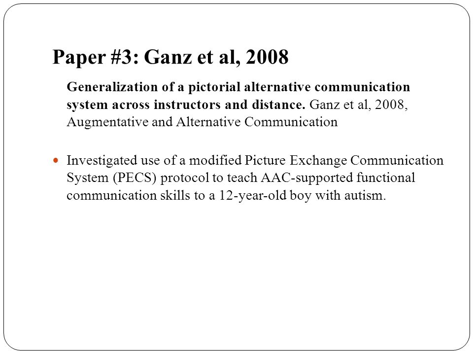 Paper #3: Ganz et al, 2008