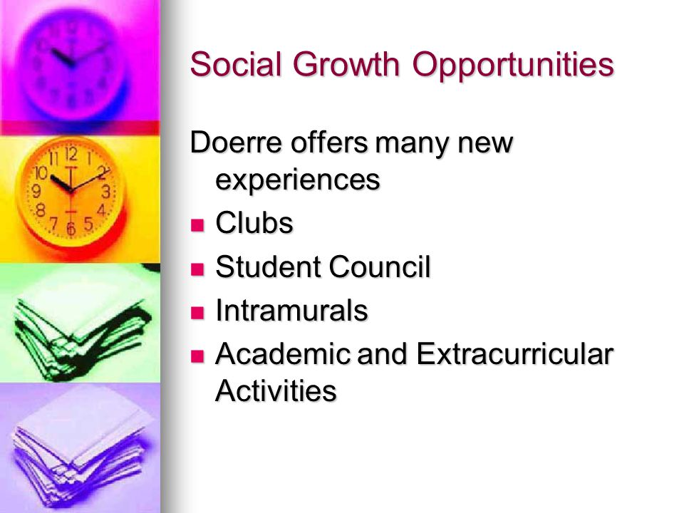 Social Growth Opportunities