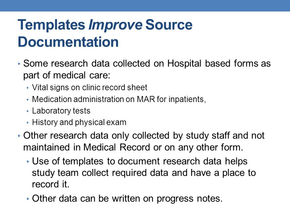 Templates Improve Source Documentation
