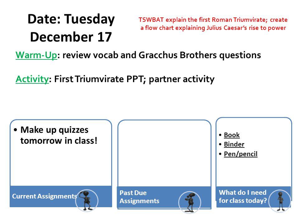 Date: Tuesday December 17