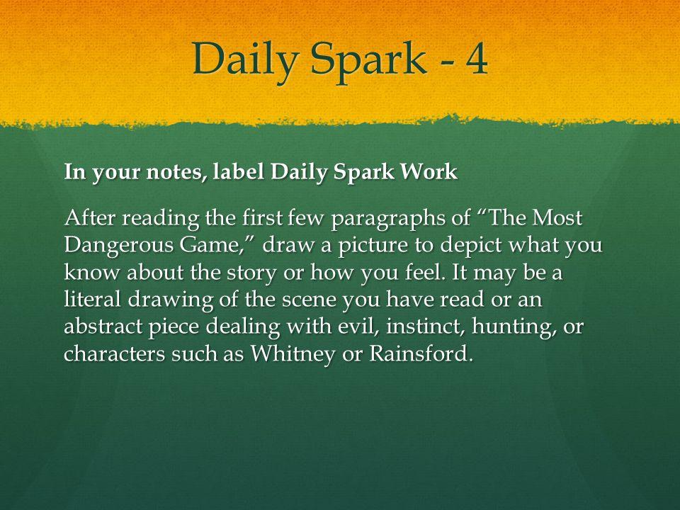 Daily Spark - 4