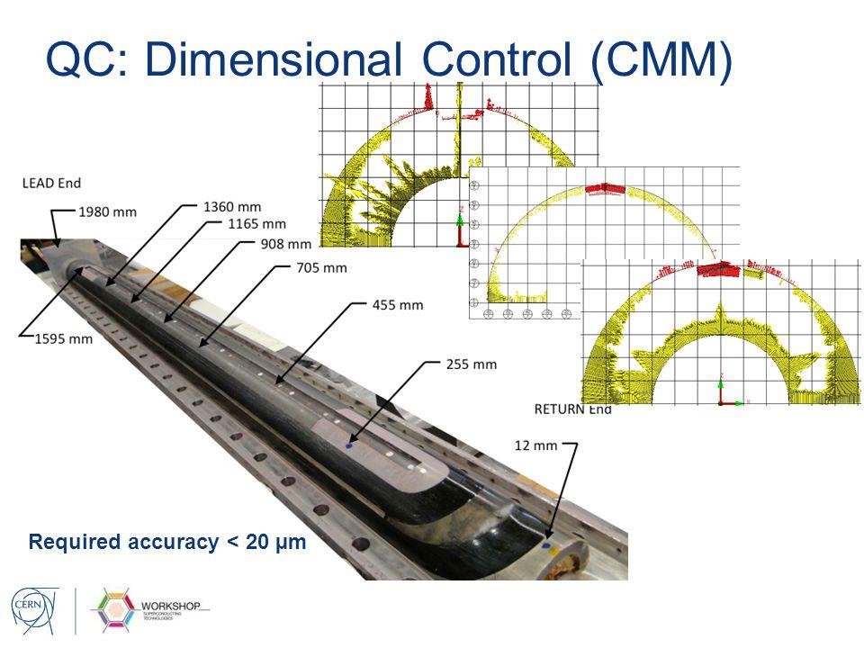 QC: Dimensional Control (CMM)
