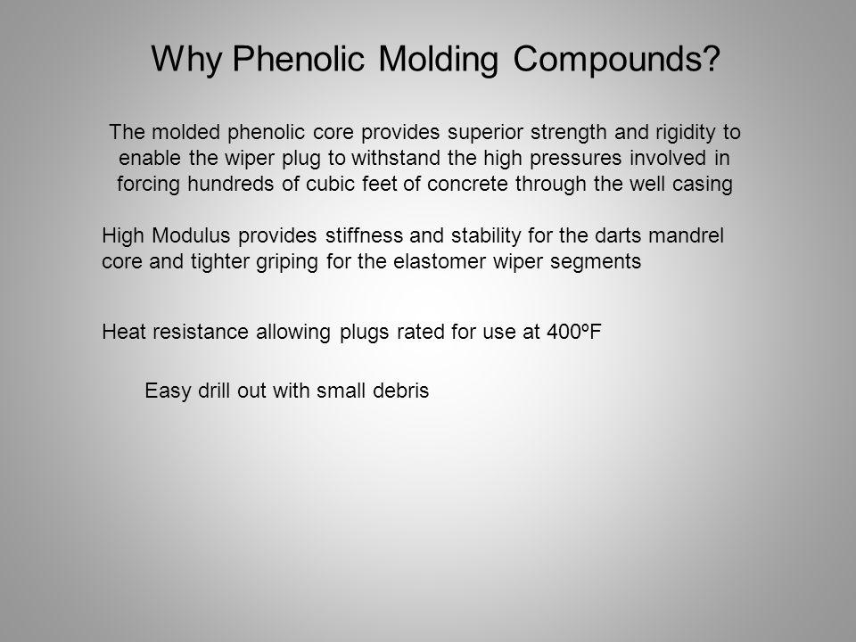 Why Phenolic Molding Compounds