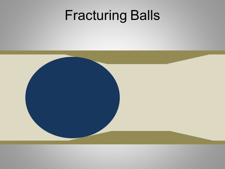 Fracturing Balls