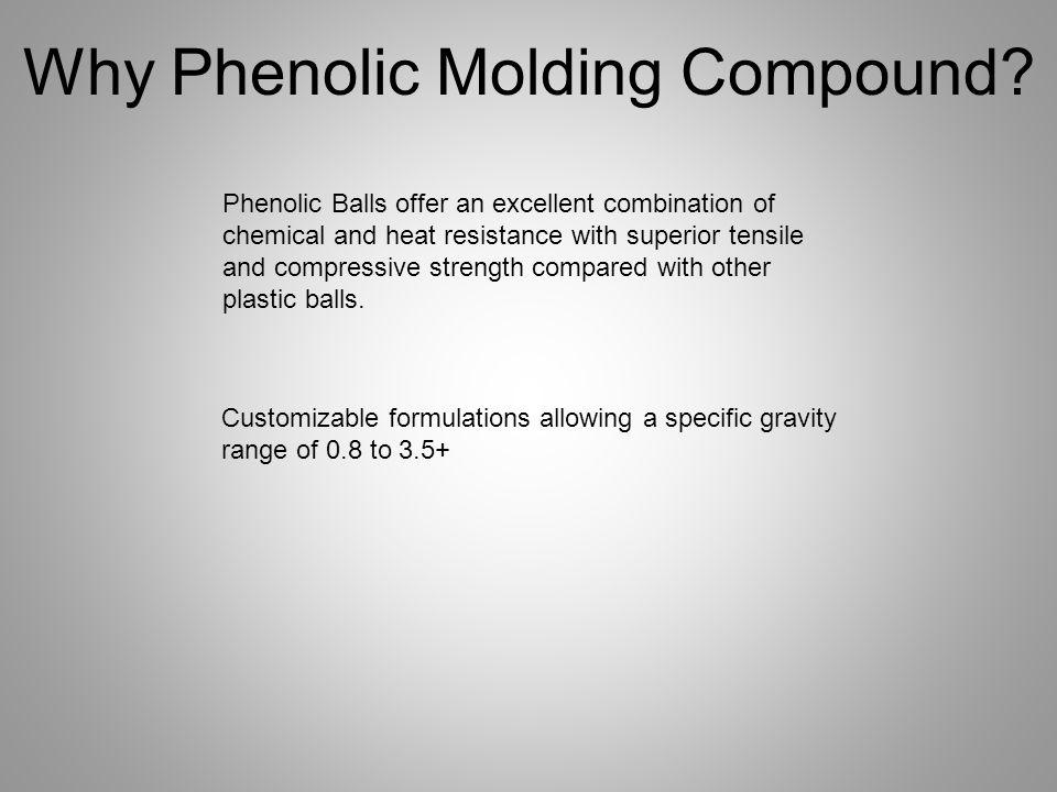 Why Phenolic Molding Compound