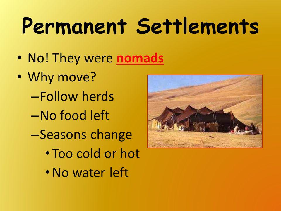 Permanent Settlements