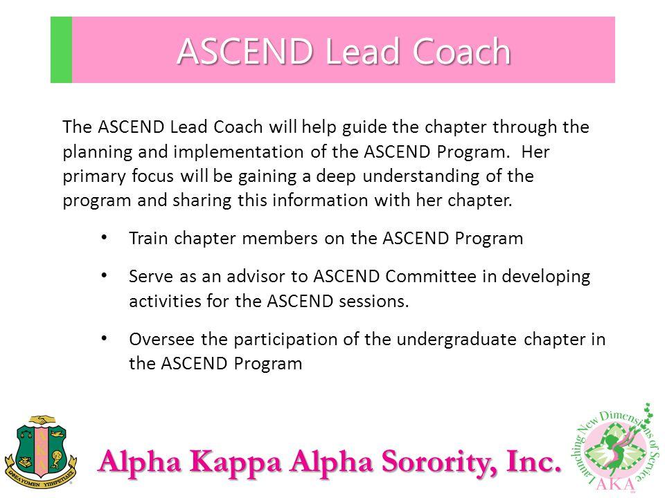 ASCEND Lead Coach