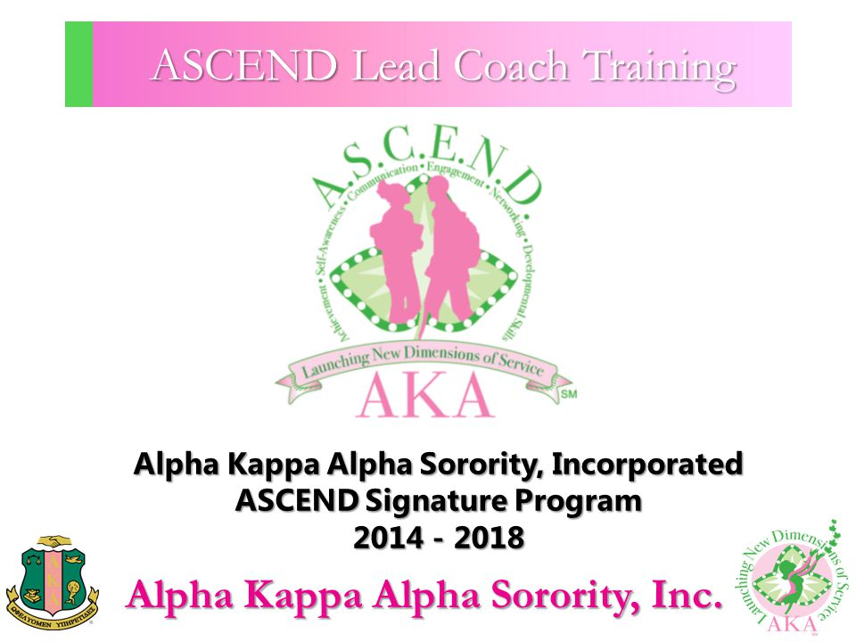 ASCEND Lead Coach Training