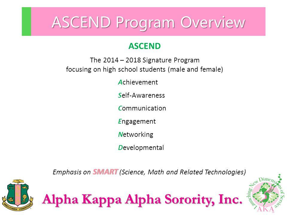 ASCEND Program Overview