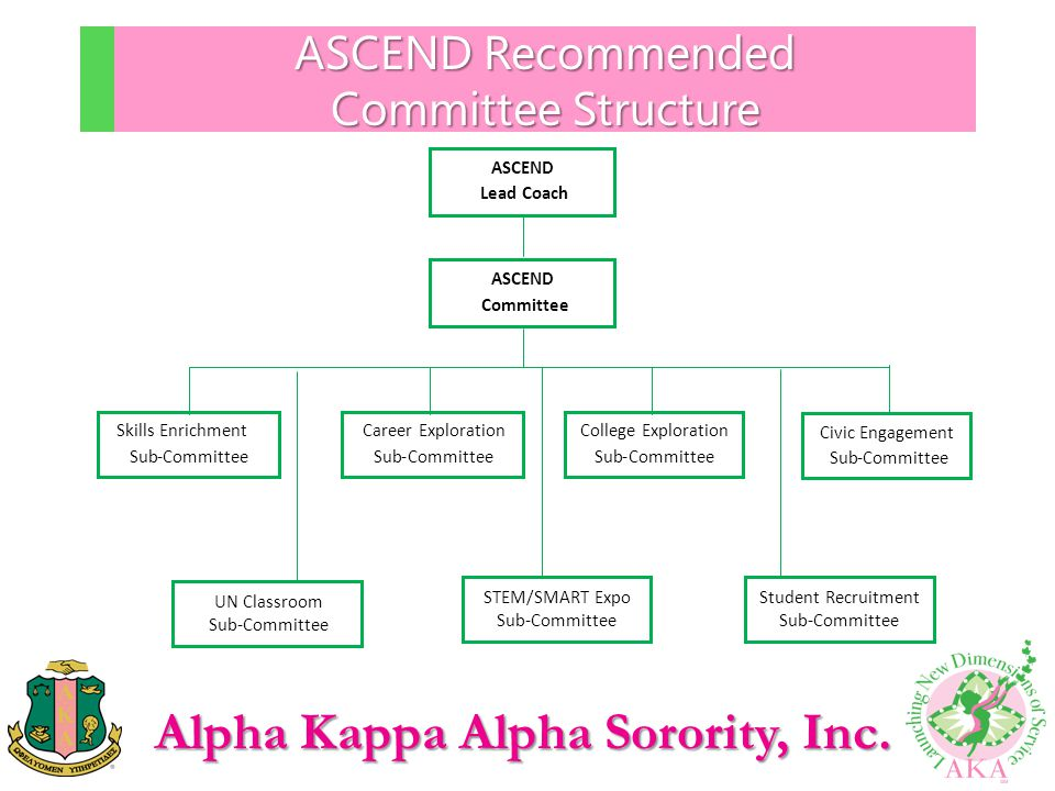 ASCEND Recommended Committee Structure