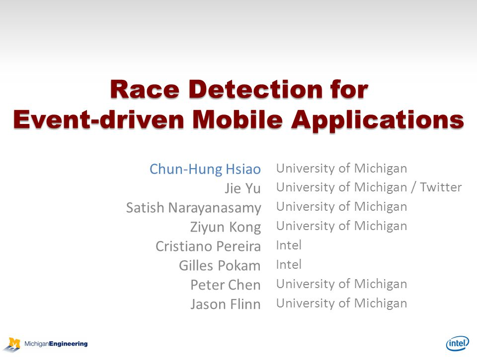 Race Detection for Event-driven Mobile Applications