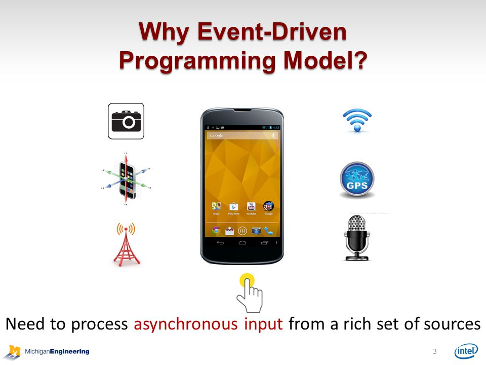 Why Event-Driven Programming Model