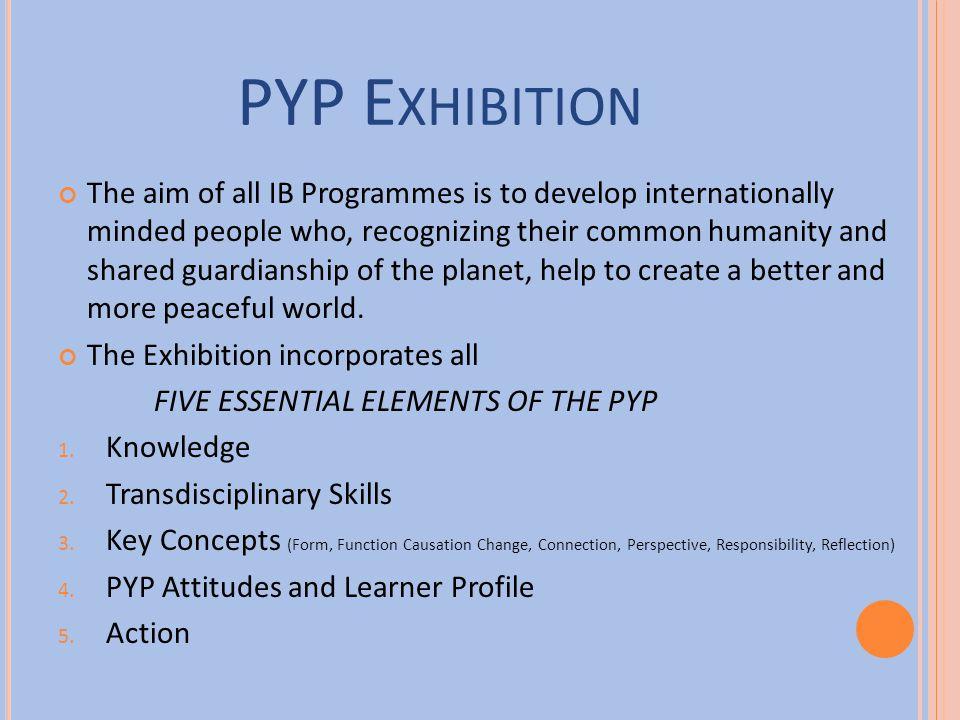PYP Exhibition