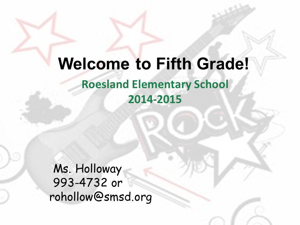 Roesland Elementary School 2014-2015