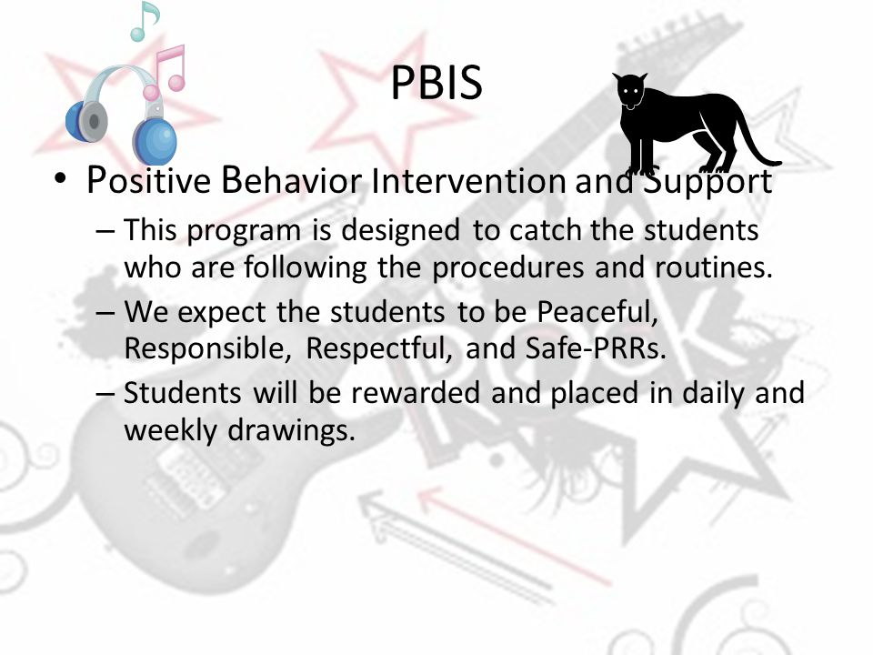 PBIS Positive Behavior Intervention and Support