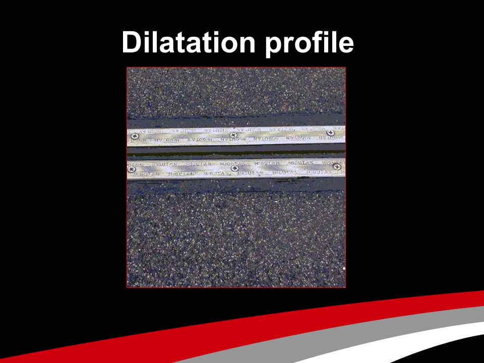 Dilatation profile