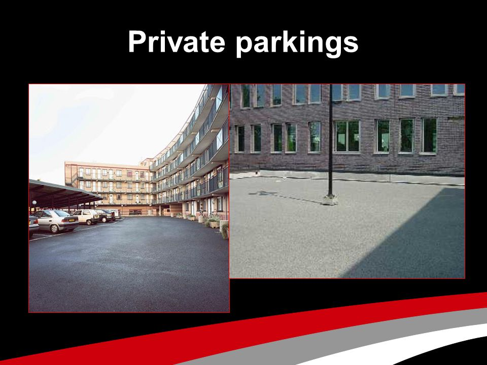 Private parkings