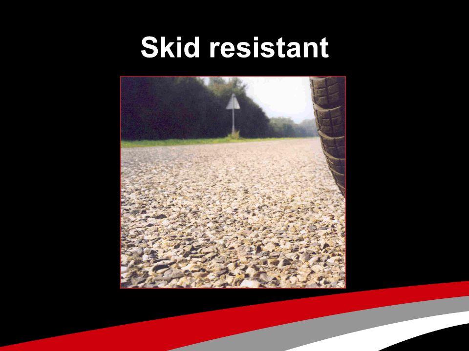 Skid resistant