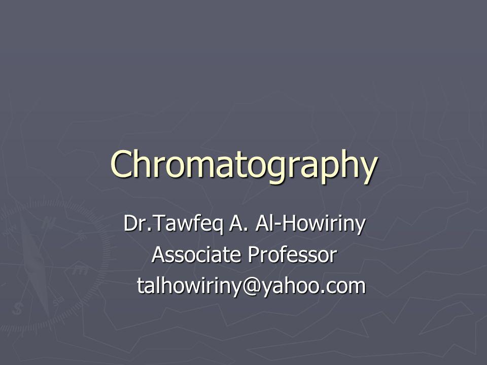 Dr.Tawfeq A. Al-Howiriny Associate Professor talhowiriny@yahoo.com