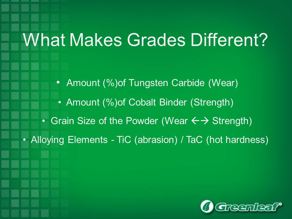 What Makes Grades Different