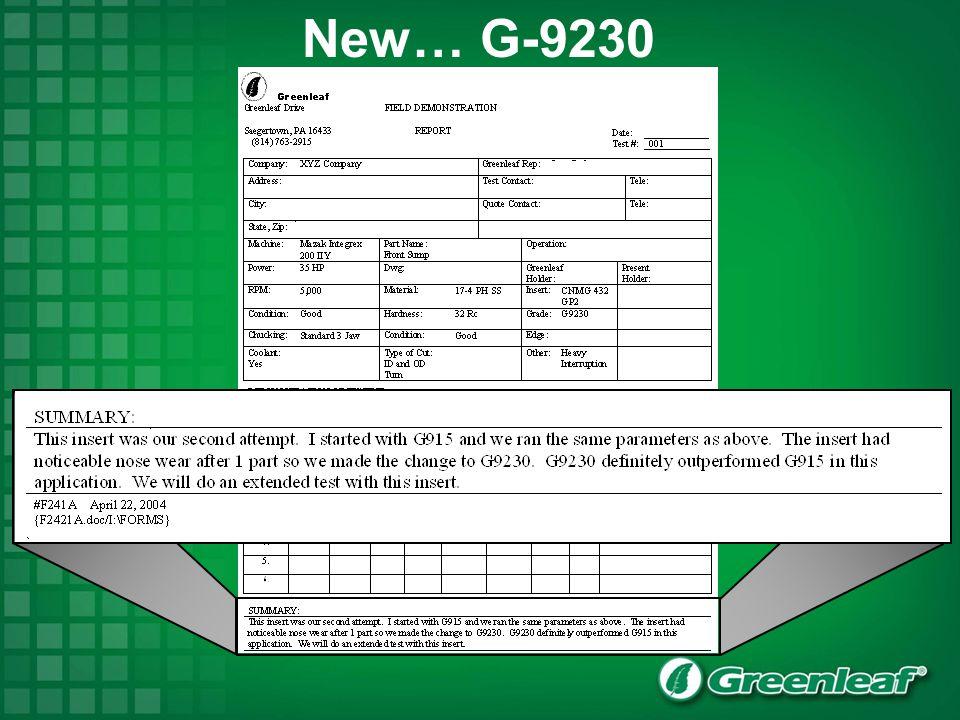 New… G-9230