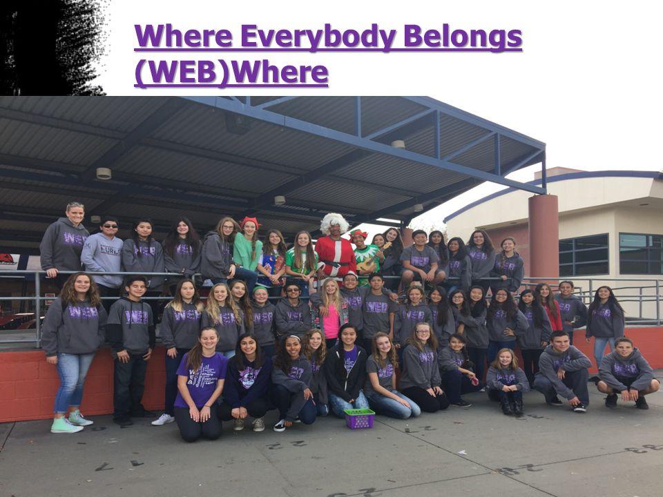 Where Everybody Belongs (WEB)Where