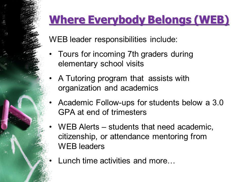 Where Everybody Belongs (WEB)
