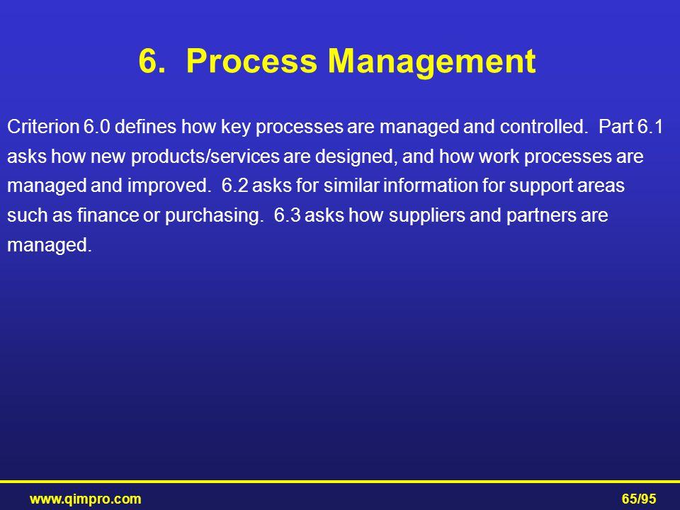 6. Process Management