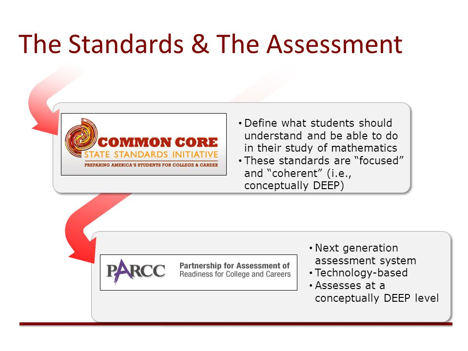 The Standards & The Assessment